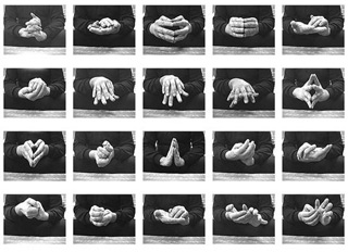 Hand Ballet, still video, 20x30in, 2006